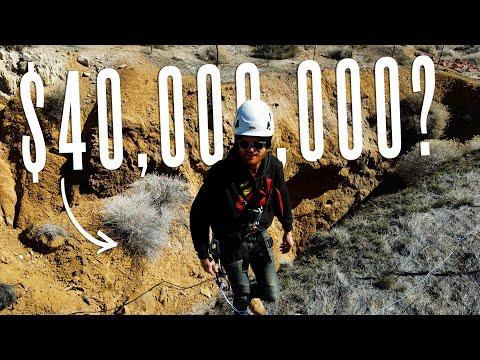 Exploring a $40,000,000 Gold Mine?
