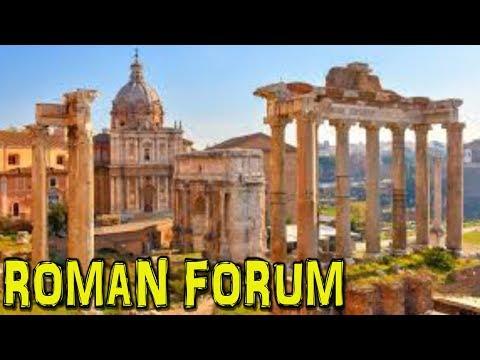 ROMAN FORUM - Rome (4K)