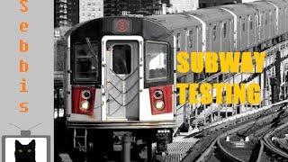 Tests de métro (en anglais) Carte personnalisée de Roblox -Trains New York-