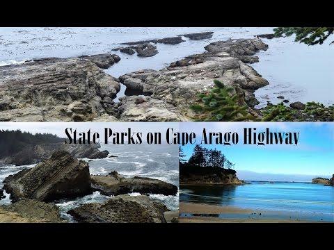 Sunset Bay State Park Tide Pools