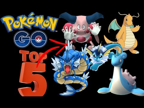 POKEMON GO- TOP 5  AMAZING AFTER EVOLVE !  BEFORE THEY WORST