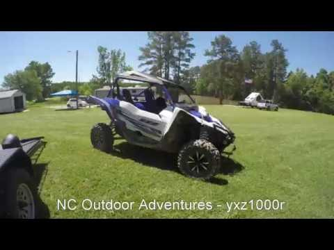 NC Outdoor Adventures - YXZ1000R - Playing around on Motocross track