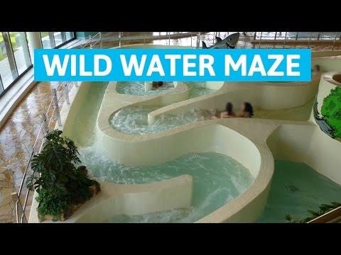 S&R De Meerminnen - Wildwaterbaan (Epic Wild Water Maze) Onride POV