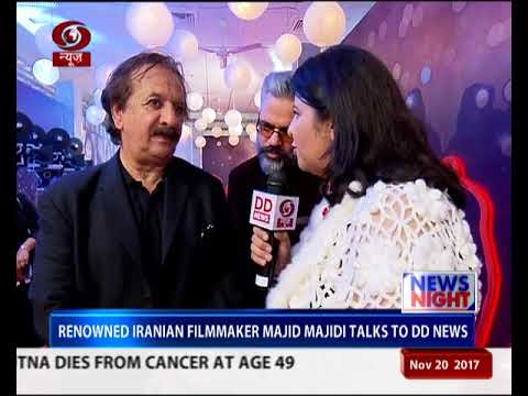 Renowned Iranian filmmaker Majid Majidi expresses desire to work with Indian Film fraternity