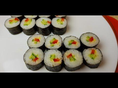Рис для суши/роллов и роллы Маки,🍣 цыганка готовит.👍 Gipsy Cuisine.