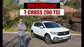 Volkswagen T-Cross 200 TSI - Teste do Emilio Camanzi