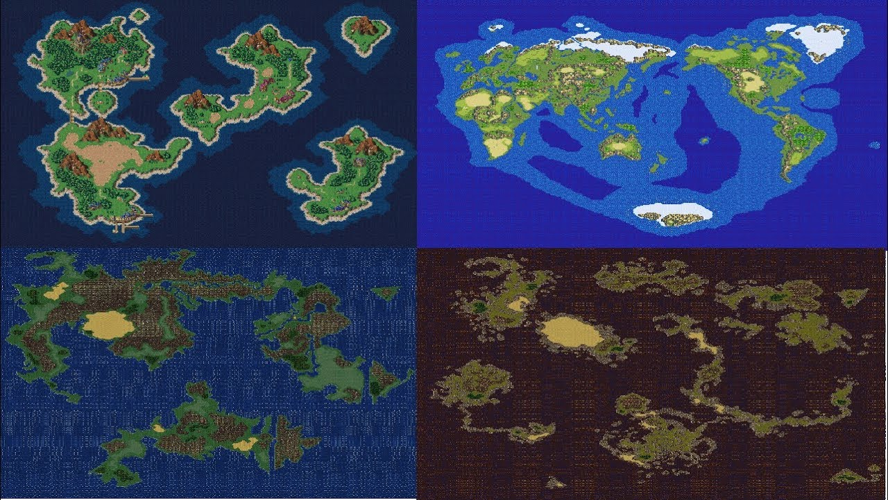 Top 10 Rpg World Maps Interconnected Maps Edition Youtube