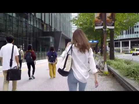 Downtown NAGOYA Japan - Walking in City - Walk from Train Station to Central Park - 名古屋市