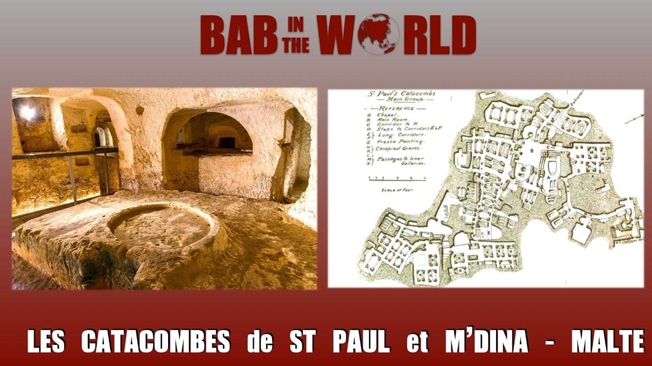 St PAUL'S CATACOMBS (MAL)