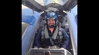 Anthony Manley Blue Angels Ride (Part 1)