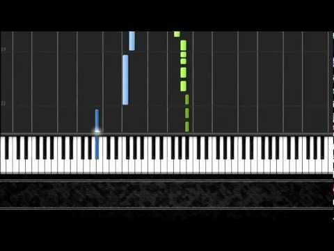 Jingle Bells - Easy Piano Tutorial by Pluta-X (100%) Synthesia