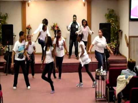 SCC Youth Dance Tye Tribbett Your Grace is Chasing Me Down 040316