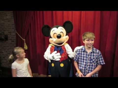 Mickey Mouse Talks at New Disney World Character Meet & Greet