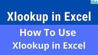#XLOOKUP  #VLOOKUP MS Excel- X Lookup function practical