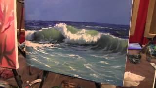 Научиться писать море, уроки живописи, мастер-классы Сахарова