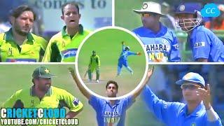 India vs Pakistan High Scoring Thriller | Super Stars Battle 2nd ODI 5 April 2005 !!