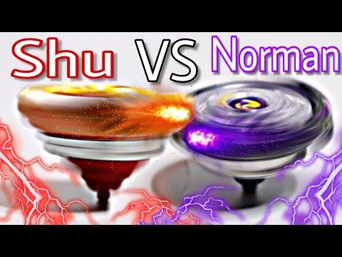 Spryzen Requiem S3 VS Noctemis N3 | Shu VS Norman | Beyblade Burst Evolution Battle