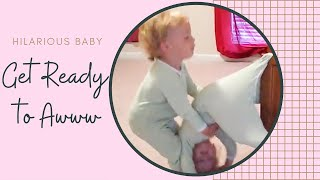 Funniest Twins Playing Failed - Hilarious Fail Baby