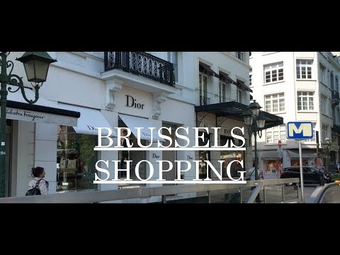 VLOG: SHOPPING IN BRUSSELS | DANNY YU
