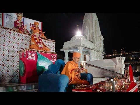 Chopda Pujan - Diwali Celebration with HH Mahant Swami Maharaj, Gondal, India