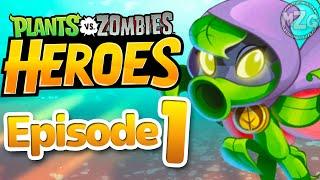 Green Shadow!! - Plants vs. Zombies: Heroes Gameplay - Episode 1