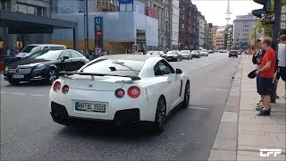 Nissan GT-R Crazy Launch Control in the City!!