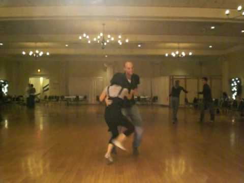 Larry Peacock and Aisha Lodjic - Lindy Hop