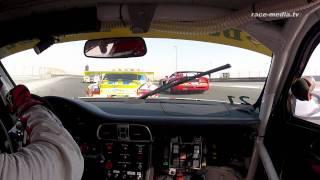 24H of Dubai 2012 Onboard Car Collection Porsche 997 GT3 Race Start