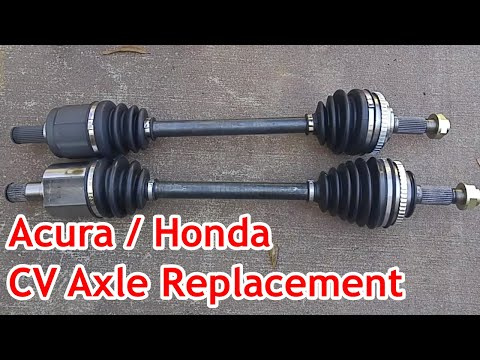 ACURA TL / CL / Honda Accord – CV Axles Replacement