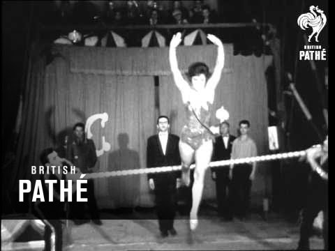 Armenian State Circus In Prague (1963)