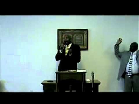 Apostle Ron B. Williams first day back. pt 1