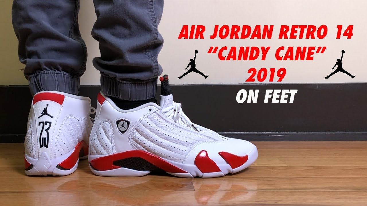 e7e4ec0e287 Air Jordan 14 Retro Candy Cane 2019 Review and On Feet - YouTube