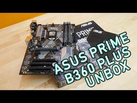 แกะกล่องรีวิวเมนบอร์ด ASUS Prime B360 Plus ราคา 3790 บาท