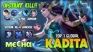 100% Annoying Combo!! Top 1 Global Kadita ft. Top 1 Global Johnson ~ Mobile Legends
