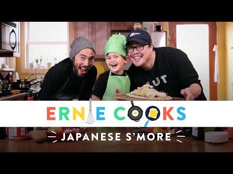 Ernie Cooks Japanese S'more!