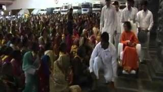 BHAGAWAN SRI SATHYA SAI BABA LAST DARSHAN VIDEO INSIDE POORNACHANDRA HALL