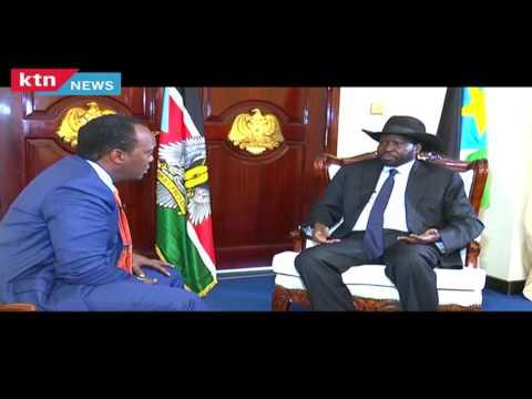 "Jeff Koinange Live 3rd August 2016 - ""Dr Riek Machar carried gun to my office,"" Salva Kiir"