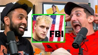 Why Jake Paul's Mansion Got Raided By FBI | Flagrant 2 with Andrew Schulz and Akaash Singh
