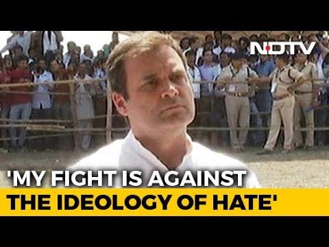 My Fight Is Against Ideology Of Hate, Rahul Gandhi Tells Ravish Kumar