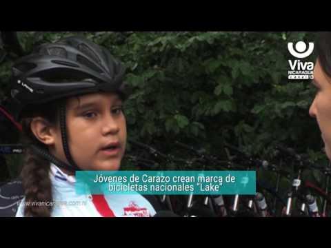 """Jóvenes De Carazo Crean Marca De Bicicletas Nacionales """"Lake"""""""
