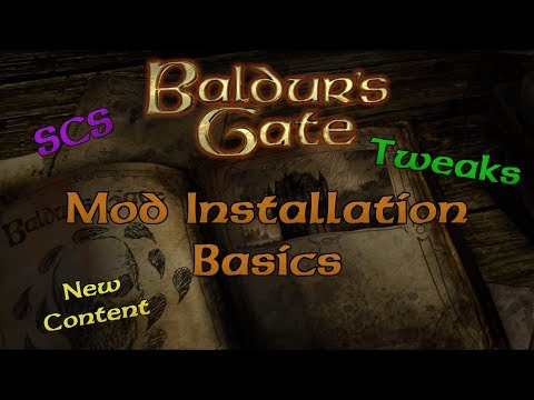 Baldur S Gate Tutorial Installing Mods Youtube