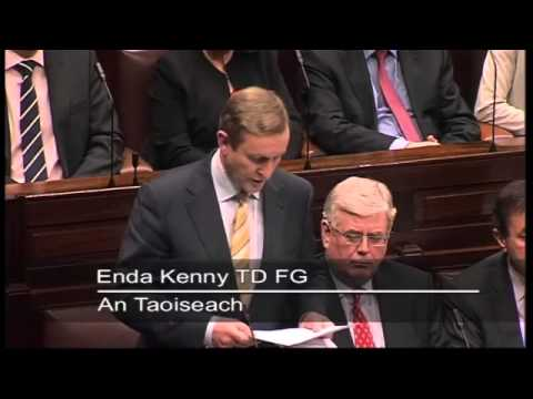 An Taoiseach Enda kenny: Statement On The Magdalene Laundries Report