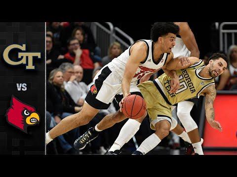 Georgia Tech vs. Louisville Men's Basketball Highlights (2019-20)