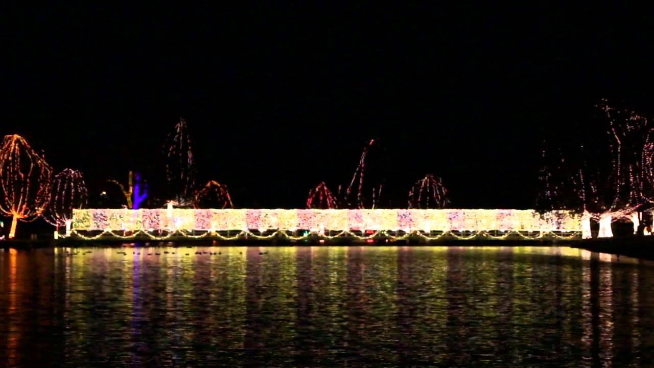 chickasha festival of light 2012 chickasha oklahoma youtube - Chickasha Christmas Lights