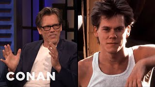 "The $1500 Haircut That Helped Kevin Bacon Get Cast In ""Footloose"" - CONAN on TBS"