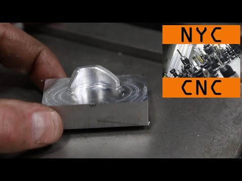 Efficiently Machining 3D shapes and 3D Chamfers in SprutCAM!