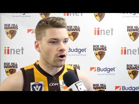 QF: Post-Match Interview with Max Warren Interview