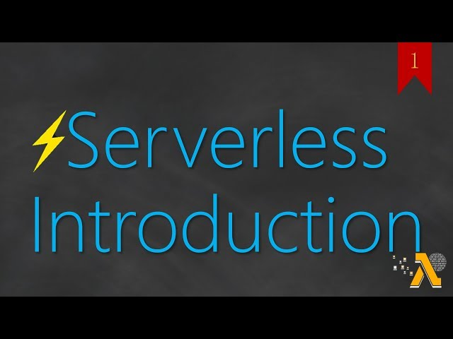 Serverless in AWS
