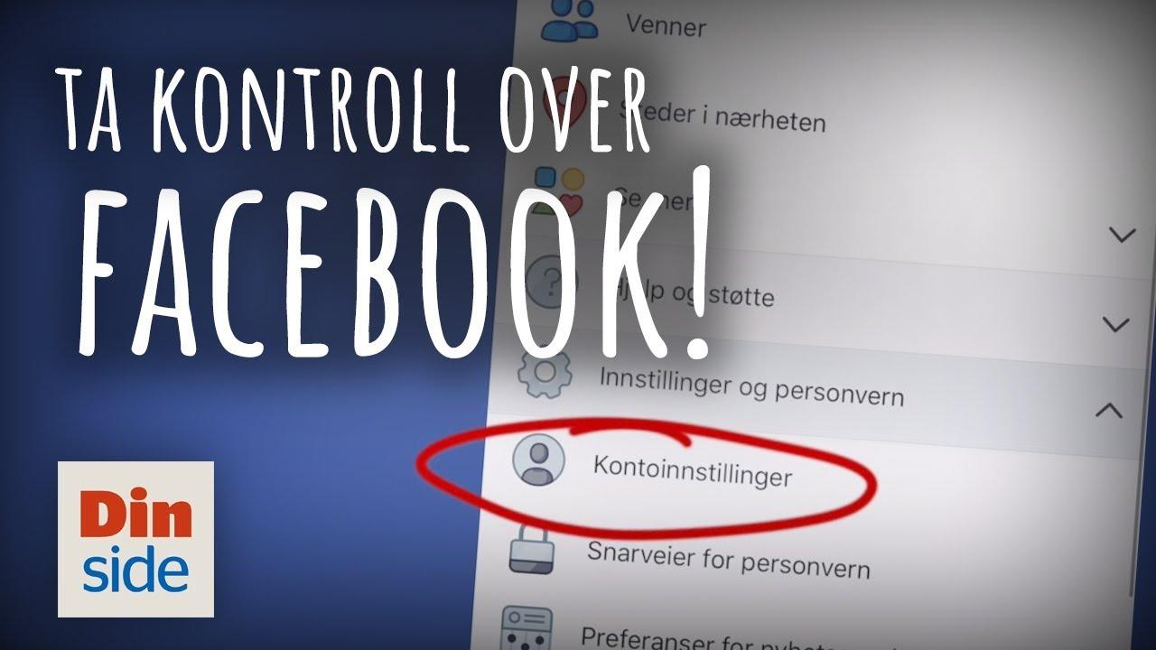 c00fa1c3 Mandag får alle ei melding fra Facebook. Men den lille skriften bør bekymre  deg - Dagbladet