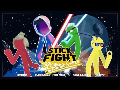 THE LAST JEDI!! - Stick Fight Funny Moments